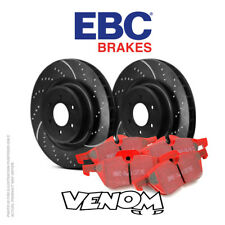 EBC Front Brake Kit Discs & Pads for Opel Astra Mk4 Coupe 2.0 Turbo 2000-2005