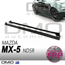 Mazda MX-5 Miata ND 2015-on OKAMI Aero O-style Side Skirt Step FRP