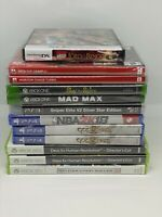 Video Game Lot Mixed 12 Switch/PS2/PS3/PS4/Xbox One/360 - New - READ DESCRIPTION