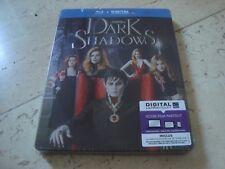 DARK SHADOWS Tim Burton DEBOSSED Blu-Ray SteelBook NEW&SEALED Johnny Depp