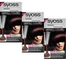 Dunkelbraune Haar-Färbemittel Syoss