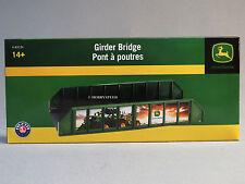 LIONEL JOHN DEERE GIRDER TRAIN TRACK BRIDGE O GAUGE metal base 6-83234 NEW