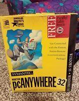 Symantic Norton, PC Anywhere 32, windows 95, windows nt