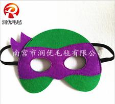 Purple Turtle Superhero Masks For Kids Halloween Costume Birthday Party Favor