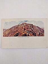 Vintage Postcard Pike's Peak Panorama Colorado Embossed Undivided Back