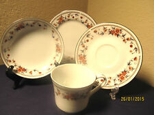 "SHEFFIELD ""ANNIVERSARY"" 6 EACH: FRUIT BOWLS, BREAD PLATES, CUPS, SAUCERS $120VAL"