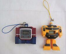 2x Vintage Transformers Robots Toy Digital Watches Diaclone KO Clock Not Working