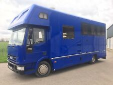 Iveco Daily 75E15 Horse Lorry Box 7.5 T