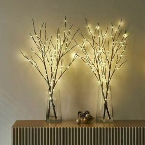 Romantic Twigs with LED Waterproof Bead Lights Branch Decorative Fairy Twig Lamp
