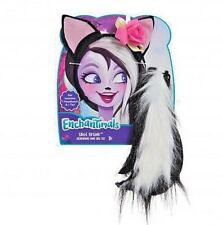 Enchanimals Sage Skunk headband and tail set costume accessory NEW