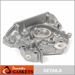 Fit 93-97 Geo Prizm Toyota Corolla Celica 1.8L Oil Pump without sensor port 7AFE