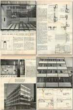 1958 Offices And Shops In New Cavendish Street London Design, Plans