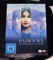 Humanos Die Completo Staffel 1 DVD Envío Rápido Nuevo & Ovp