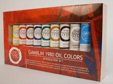 Gamblin Gb101110 1980 Oil Color Set