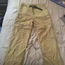 "Boy Scouts of America Switchback Uniform Pants Nylon Convertible Mens Medium 30"""