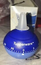 Tupperware Kitchen Timer Blue Cake Icing Decoration Ball Shape NEW IN BOX