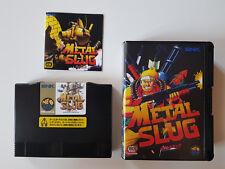 Metal Slug 1 en japonais cartouche neo geo aes convert