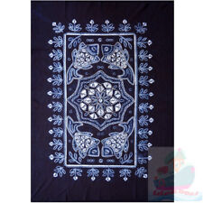 Handmade indigo Tie Dye Rural Style Tablecloth Table Cover Tapestry 160cmx110cm