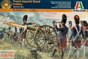 French Imperial Guard Artill.1:72 Italeri It6135 Modellino