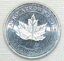 Collectable AVRO ARROW CF-105 Canada 1953-59 Coin
