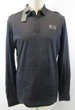Camicie casual e maglie da uomo neri Antony Morato in cotone