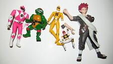 Damaged Action Figure lot Naruto TMNT Power Rangers