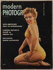 Vintage August 1954 Modern Photography Magazine Sexy Bikini Marilyn Monroe Cover