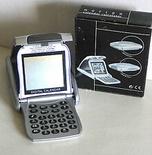 Collapsible World Time Travel Clock Alarm Calendar and Calculator in Box Free Sh