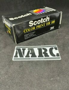 Scotch Color Print HR 100 12 exp 126 Film 3M Kodak Expired film out of date