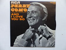 45 Tours PERRY COMO And I love you so , love looks so good on you 41100