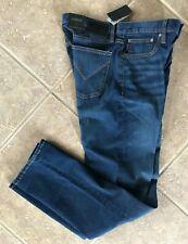 John Varvatos USA Classic Straight Navy Denim Pants J310U1B 30