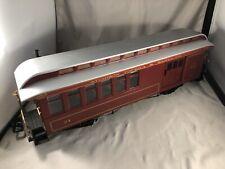 Bachmann Red Comet G Scale Model Train Big Haulers U.S. Mail Car Santa Fe