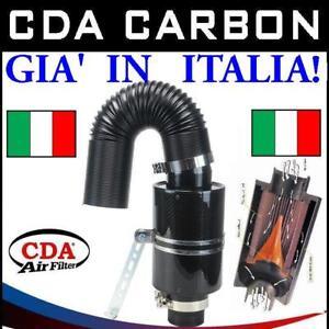 FILTRO ARIA AUTO CDA CARBON DYNAMIC AIRBOX TIPO BMC+RESPIRO+CAVALLI SPORTIVO AIR