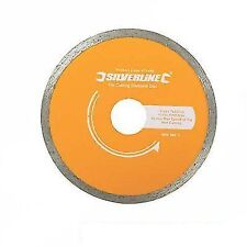 Tile Cutting Diamond Disc 180mm X 22mm Continuous Rim Blade 993035