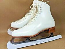 Riedell 220 RetroWomen's Figure Skates Size 9 Medium Wilson Excel Blades