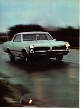 1966 PONTIAC TEMPEST SPRINT OHC 6 ~ ORIGINAL 5-PAGE ARTICLE / AD