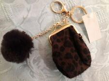 A Saisir  porte clé mini porte monnaie boule bijou de sac  léopard