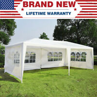US 10x20FT Wedding Outdoor Party Patio Tent Canopy Heavy Duty Commercial Marque