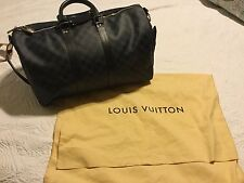 Louis Vuitton~Keepall Bandouliere 45~Damier Cobalt authentic