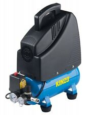 KINZO Druckluftkompressor Kompressor 6 Liter 8 bar 1200 Watt 1,5 PS 153l/min