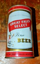 Great Falls Select 2 Panel Flat Top Beer Can Very Nice Condition