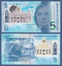 SCOZIA/SCOTLAND 5 Pounds 2016 Polymer UNC P. NEW