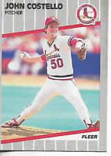 1989 Fleer John Costello Card