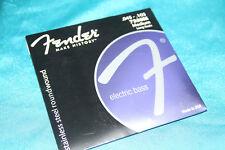 Fender Stainless Steel Round Wound Bass Strings, Medium, MPN 073-7350-406