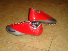 Nike Mercurial Veloci V SG Soccer Shoes RARE Football Boots Orange New