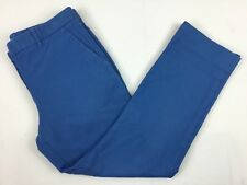 GAP Tailored Crop Stretch Womens Size 6R Blue Capris Dress Casual Pants