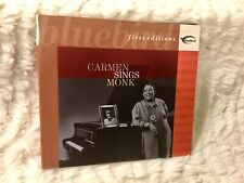 Carmen Sings Monk: First Editions [Dig]