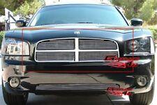 Fits 05-10 Dodge Charger Main Upper Billet Grille Insert