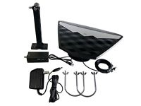 Digital Indoor/Outdoor TV Antenna HD UHF VHF Amplified Low Noise HDTV DTV NEW