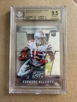 2016 EZEKIEL ELLIOTT PANINI PRIZM DRAFT PICKS #105 BGS 9.5 COWBOYS ROOKIE RC